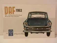 DAF Brochures, a lot of old advertisement and DAF archive 1960s