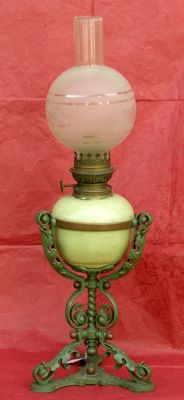 Big oil lamp - Austria - mid 1800s