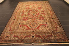 Collector's item - wonderfully beautiful hand-knotted oriental carpet, Kazak Caucasus, old rung, 200 x 320 cm