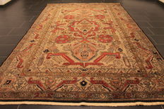 Collector's item - wonderfully beautiful antique hand-knotted oriental carpet, Kazak Caucasus, old rung, 200 x 320 cm