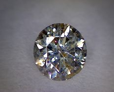 Diamond – 0.53 ct – Round cut – I/SI2
