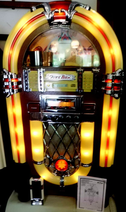 xxl nostalgia jukebox music box retro wurlitzer mark. Black Bedroom Furniture Sets. Home Design Ideas