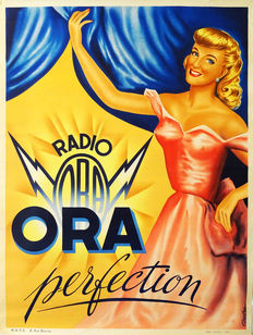 Arestein - 'Radio ORA perfection' - ca. 1940