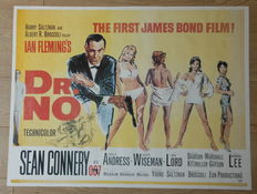 Dr. No - old movieposter size 90,2x68,2 cm.