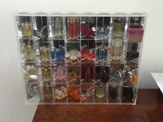 Perfume miniatures collection ca 30 years old, 42  vials