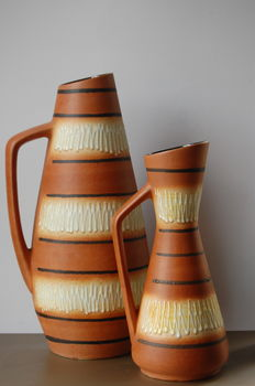 Scheurich - Two vases/jugs model 270 and 272