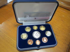 Republic of Italy, 2007 'Kyoto' Annual Series, Proof (including silver coins)