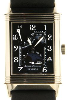 Jaeger Le Coultre Reverso - reference 270.3.63 - Sun moon/day night - (our internal #7681)