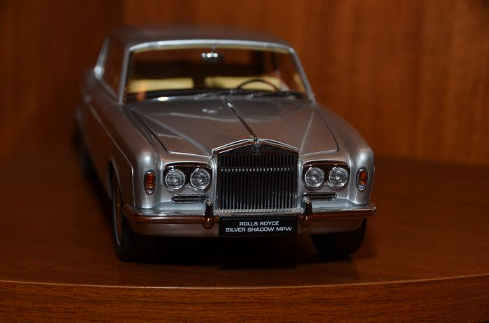 paragon models - scale 1/18 - rolls-royce silver shadow mpw 2