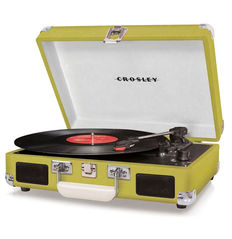 Crosley Cruiser Record Player Lime  + Exclusive Single Chuck Berry