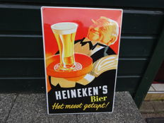 Billboard Heineken - metal - approx. 1980
