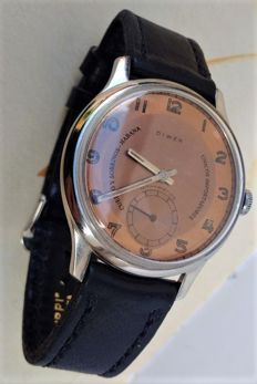 Diwen Swiss made for and retailed by Cuervo Y Sobrinos – Man wedding watch – 50s/60s.