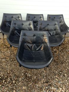 Philippe Starck for Cassina - 'Passion' chairs set of 6.