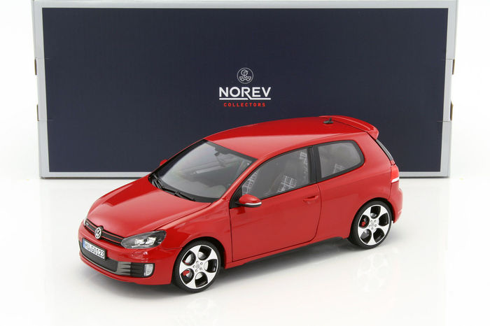 Norev - Scale 1/18 - Volkswagen Golf Mk6 GTI, 2009 - Red