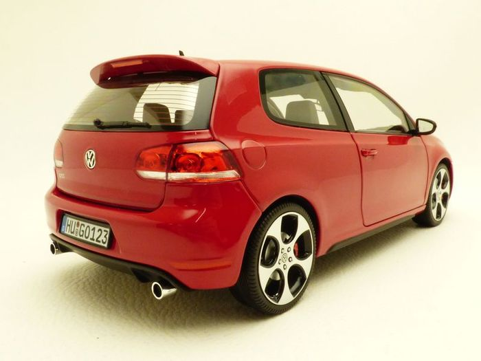 Norev  Scale 118  Volkswagen Golf Mk6 GTI 2009  Red  Catawiki