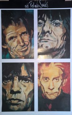 Portret poster of Rolling Stones