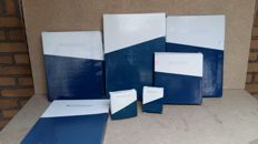 Zilverstad: Collection of 7 silver plated photo frames