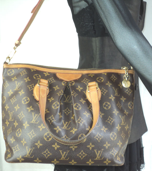 Louis Vuitton - Monogram Palermo PM Shoulder Hand Bag - Catawiki d2b7bd86be9e1