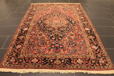 Rare, beautiful semi-antique hand-knotted Persian carpet, Bakhtiar, natural dyes, 150 x 220 cm