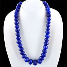 Necklace with sapphire, 1094 ct