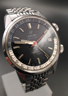 Enicar Sherpa Jet wristwatch, from the 1960s