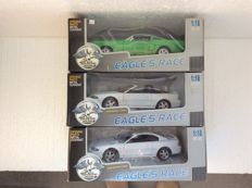 Universal Hobbies/ Eagle's Race- Scale 1:18 - 1994 Ford Mustang Cobra Coupe and Convertible - 1966 Ford Mustang GT 350 'Shelby'