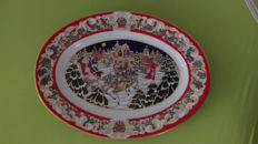 House of Fabergé - Large plate - Limited edition - Winter Festival