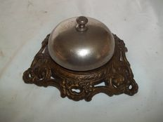 Antique French desk/hotel bell, France, approx. 1920
