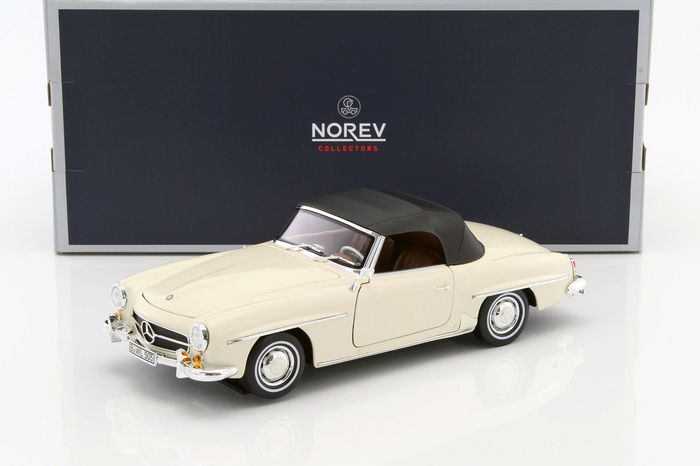 Norev - Scale 1/18 - Mercedes-Benz 190 SL 1957