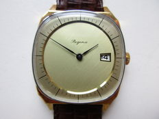 Regina gold-plated – never worn men's wristwatch – 1970s