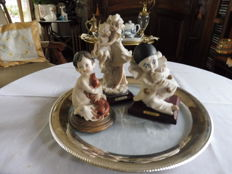 Capodimonte - G Armani - Three porcelain figurines