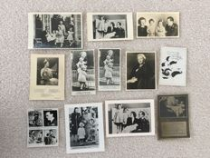 The Netherlands-Royals-collection of 261 old postcards and photos