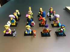 Collectible Minifigures - 71009 - The Simpsons Series 2 - Complete set of 16 minifigures
