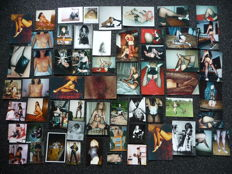 Amateur; Lot with 58 erotic photos - 1990s
