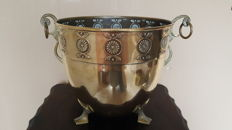 Art Nouveau - Art Deco copper bowl or ice bucket