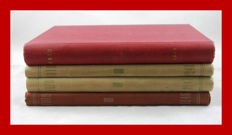 "4 bound volumes 1946/47/48/49 universal magazine for photography ""FOTO"" from Hengelo (the Netherlands)"