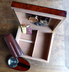 Humidor  - wooden box for cigars