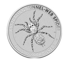 Silver Spider - Issue of 2015 - 1 OZ Silver Coin