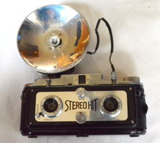 HIT STEREO camera, with original flash in box
