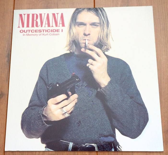 Nirvana Lot Of 3 Limited Edition Lps In Utero On Clear Wax W Lyric Insert Poster Outcesticide I