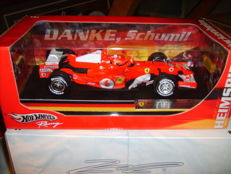 Hot Wheels - 1/18 Scale - Ferrari F1 M. Schumacher 'Danke Schumi' G.P. Germany 2006.