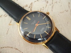 "Poljot de Luxe ""ultra-slim"" – Men's dress watch – gold plated – 1970s"