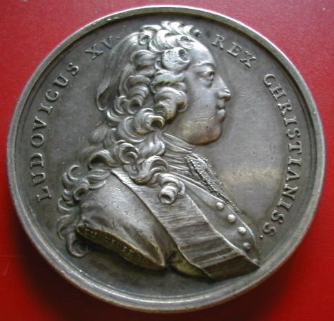 France louis xv medal 39 creation de la chambre de for Chambre de commerce de france