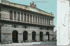 Naples 133+ old postcards, small format ,