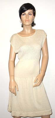 Max Mara - Stunning dress, made of 85% silk and 15% cashmere, in perfect condition, no reserve price