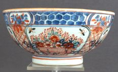 Large bowl with decorations of Amsterdam Motley - China - around 1740, Qianlong period (1735-1796)