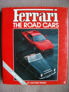 Automobile Book, Prunet - Ferrari, the Road Cars - 1987