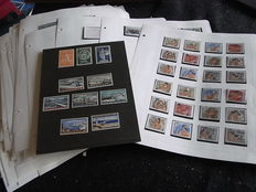 Greece 1954/1986 – Collection on Sheets and Stock Cards