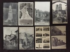 lot of approximately 650 postcards - early 20th century to 1960s - various France