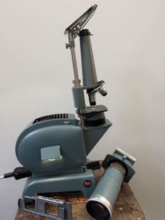 Leitz Prado 500 slide projector with microscope module